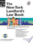 New York Landlord s Law Book