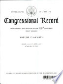 Congressional Record  V  151  Pt  4  March 11 to April 6 2005