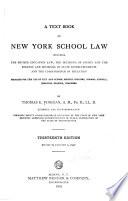 A Textbook on New York School Law