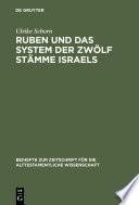 Ruben und das System der zwölf Stämme Israels