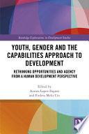 Youth  Gender and the Capabilities Approach to Development