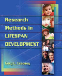 Research Methods In Lifespan Development