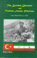 The Kurdish Question and Turkish Iranian Relations Book PDF