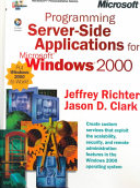 Programming Server Side Applications For Microsoft Windows 2000