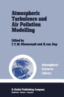 Atmospheric Turbulence and Air Pollution Modelling