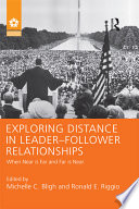 Exploring Distance in Leader follower Relationships