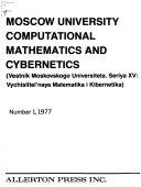 Moscow University Computational Mathematics and Cybernetics