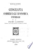 Geografia commerciale economica universale