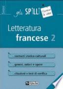 Letteratura francese 2