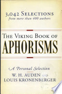 The Viking Book of Aphorisms