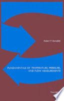 Fundamentals of Temperature  Pressure and Flow Measurements