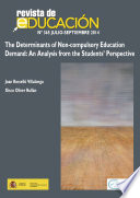 Determinants of Non compulsory Education Demand  An Analysis from the Students  Perspective
