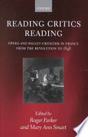 Reading Critics Reading