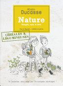 illustration Nature céréales et légumineuses
