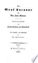 Der Graf Lucanor des Don Juan Manuel