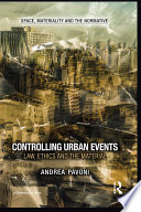Controlling Urban Events
