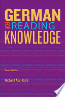German For Reading Knowledge : and translating progressively complex texts...