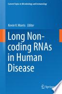 Long Non Coding Rnas In Human Disease book