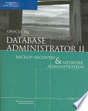 Oracle 10g Database Administrator II