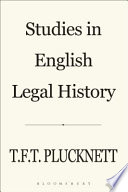 Studies in English Legal History