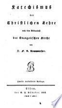Katechismus der christl. Lehre
