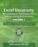 Excel University Volume 1   Featuring Excel 2013 for Windows