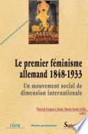 Le premier f  minisme allemand  1848 1933