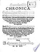Quernfurtische Chronica