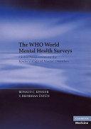 The Who World Mental Health Surveys