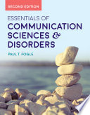 Essentials Of Communication Sciences Disorders book