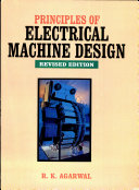 Principles Of Electrical Machine Design