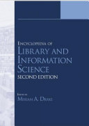 download ebook encyclopedia of library and information science pdf epub