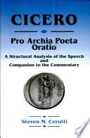 Pro Archia Poeta Oratio