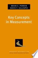 Key Concepts in Measurement