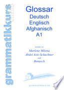 Glossar Deutsch Englisch Afghanisch A1