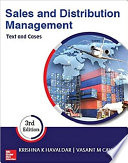 Sales And Distribution Management 3 E