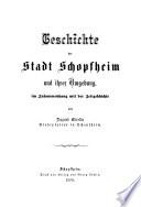 Geschichte der Stadt Schopfheim und ihrer Umgebung im Zusammenhang mit der Zeitgeschichte