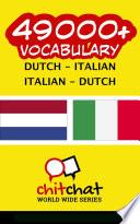 49000  Dutch   Italian Italian   Dutch Vocabulary