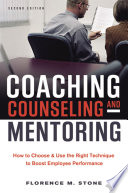 Coaching Counseling And Mentoring