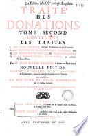 Trait   des donations entre vifs et testamentaires  Par Maitre Jean Marie Ricard