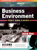 Business Environment:Test & Cases 2E