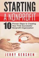 Starting a Nonprofit