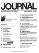 Journal of Financial Service Professionals