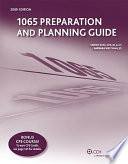 1065 Preparation and Planning Guide  2009