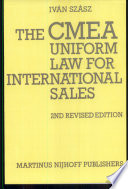 The Cmea Uniform Law for International Sales