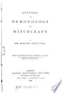 Letters on demonology and witchcraft. With an intr. by H. Morley
