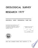 Geological Survey Research 1977