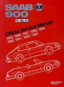 Saab 900 16 Valve Official Service Manual 1985 1993