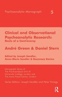 Clinical Observational Psychoanalytic