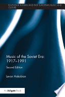 Music of the Soviet Era  1917   1991